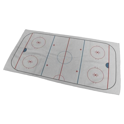 Ice Hockey Rink Bath Towel - Small